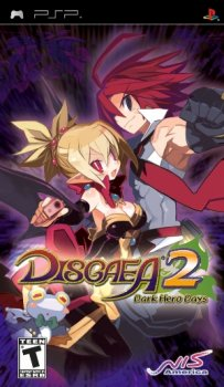 Disgaea 2: Dark Hero Days (2009/FULL/ISO/ENG) / PSP