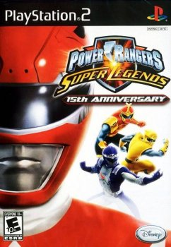 Power Rangers: Super Legends - 15th Anniversary (2007/RUS/NTSC) / PS2