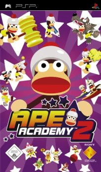 Ape Escape Academy 2 (2006/FULL/CSO/RUS) / PSP