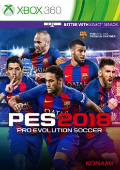 Pro Evolution Soccer 2018 / PES 2018 (2017/XBOX360/Русский), FREEBOOT