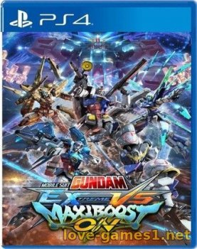 [PS4] MOBILE SUIT GUNDAM EXTREME VS. MAXIBOOST ON (CUSA15000)